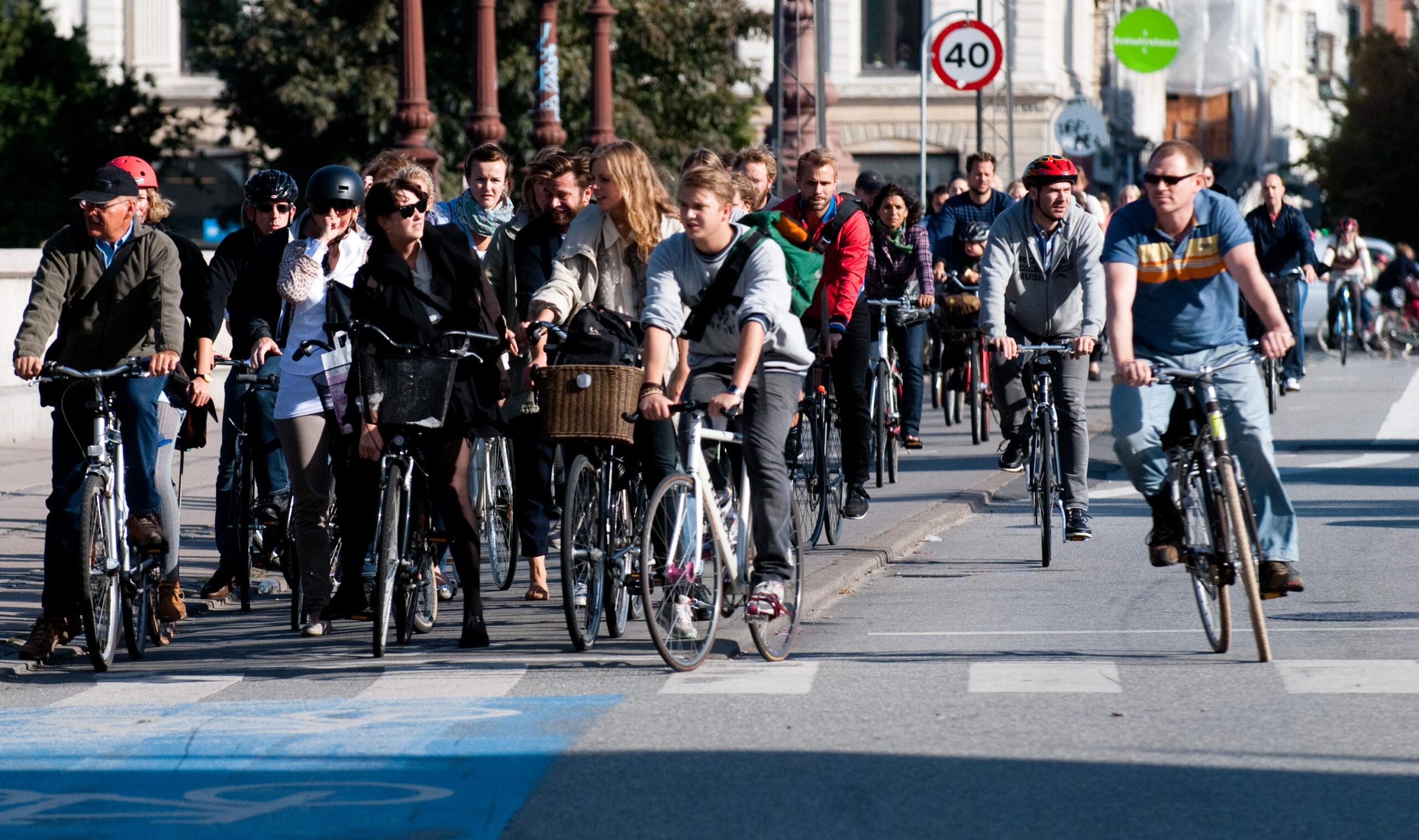 Radverkehr im dänischen Kopenhagen